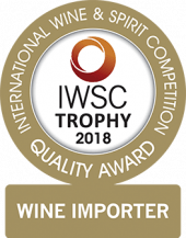 Wine Importer Of The Year Trophy 2018