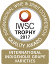International Indigenous Grape Varieties Trophy 2017