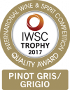 Pinot Gris/Pinot Grigio Trophy 2017