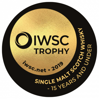 Single Malt Scotch Whisky 15 Years And Under Trophy 2019