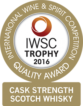 Cask Strength Scotch Whisky Trophy 2016