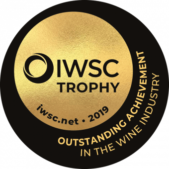 Julian Brind Memorial Trophy For Outstanding Achievement in the Wine Industry 2019