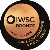 Gin And Double Dutch Pomegranate & Basil Tonic Bronze 2019