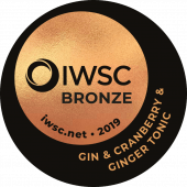 Gin & Double Dutch Cranberry & Ginger Tonic Bronze 2019