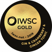 Gin & Double Dutch Cranberry & Ginger Tonic Gold 2019