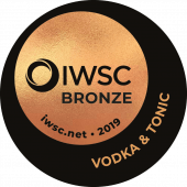 Vodka & Double Dutch Tonic Bronze 2019