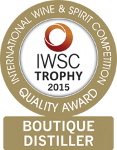 Boutique Distiller Of The Year Trophy 2015