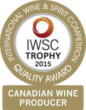 Canadian Wine Producer Of The Year Trophy 2015