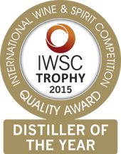 Distiller Of The Year Trophy 2015