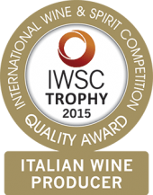 Italian Wine Producer Of The Year Trophy 2015