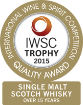 Single Malt Scotch Whisky Over 15 Years Old Trophy 2015