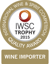 Wine Importer Of The Year Trophy 2015
