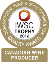 Canadian Wine Producer Of The Year 2016