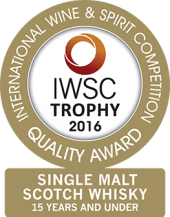 Single Malt Scotch Whisky - 15 Years And Under Trophy 2016