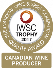 Canadian Wine Producer Of The Year Trophy 2017