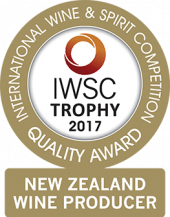 New Zealand Wine Producer Of The Year Trophy 2017