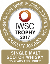 Single Malt Scotch Whisky 15 Years And Under Trophy 2017