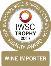 Wine Importer Of The Year Trophy 2017