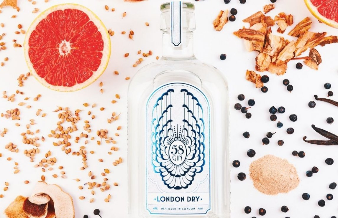 UK Gin Producer of the Year, 2020: 58 Gin